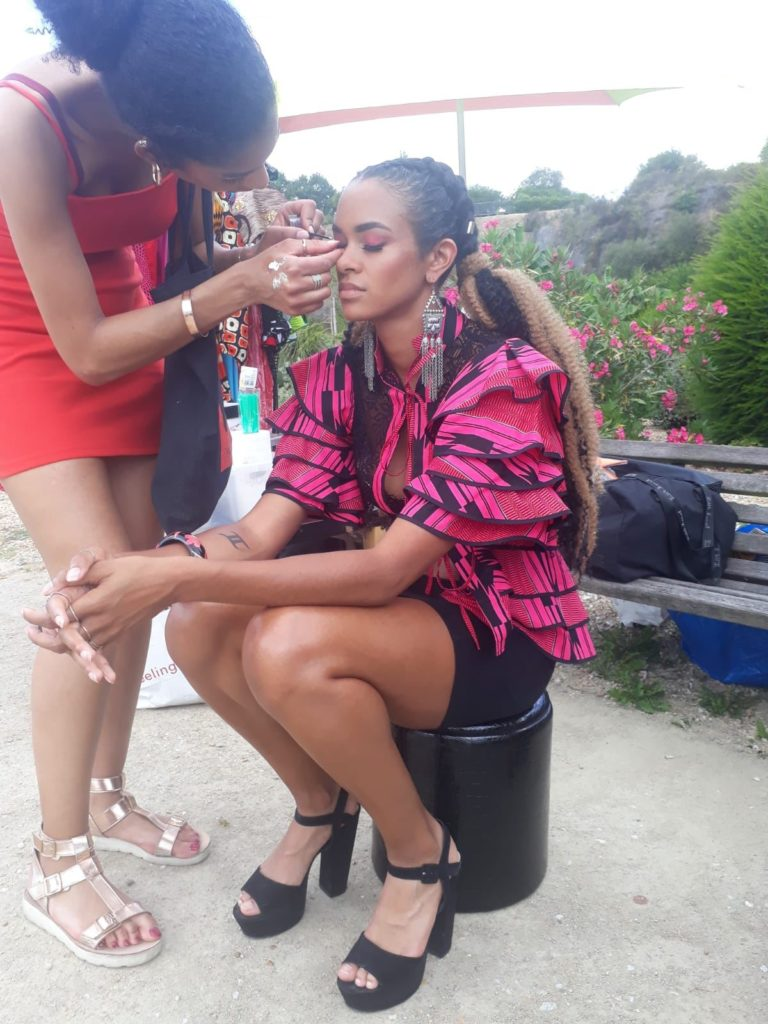 Préparation des modèles makeup & hairstyle meliwa artist 44200