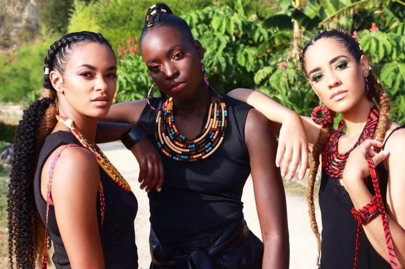 Shooting photo tropical nantes par meliwa makeup artist